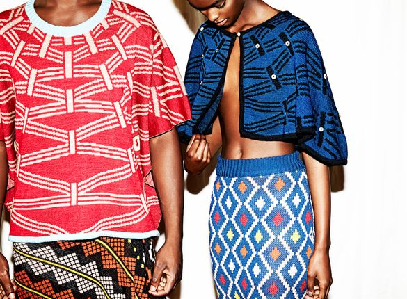 """Maxhosa. """"There's a reason he's called the Missoni of Africa,"""" said Kyle Boshoff, Creative Director for Mercedez-Benz Fashion Week"""