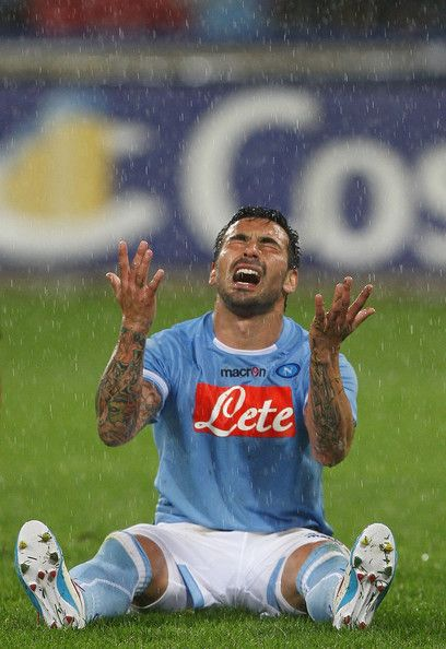Lavezzi - I pretty much feel this way after the week we had... :( Vi amo, comunque <3
