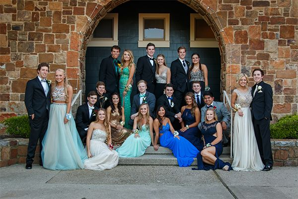 Great grouping for prom pic