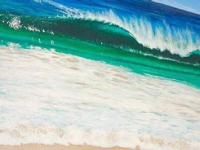 Waves at Bondi Junction Beach