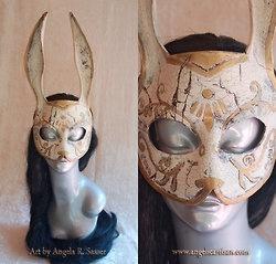 Vintage Steampunk Masks by Angela R. Sasser