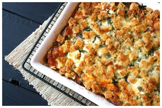 Overnight Prosciutto & Goat Cheese Egg Bake: Cheese Eggs, Breakfast Ideas, Overnight Eggs, Chee Eggs, Eggs Baking, Overnight Prosciutto, Prosciutto Goats, Goats Cheese, Goat Cheese