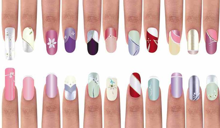8 New Nail Shapes And Colors For Spring