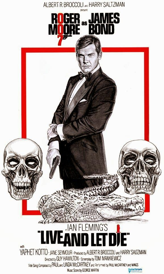 """patart: ROGER MOORE AS JAMES BOND 007 """"LIVE AND LET DIE"""""""