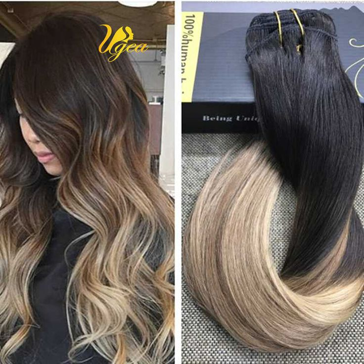 106 best clip in hair extensions images on pinterest blondes balayage ombre off blackbrowngolden blonde remy clip in human hair extensions pmusecretfo Choice Image