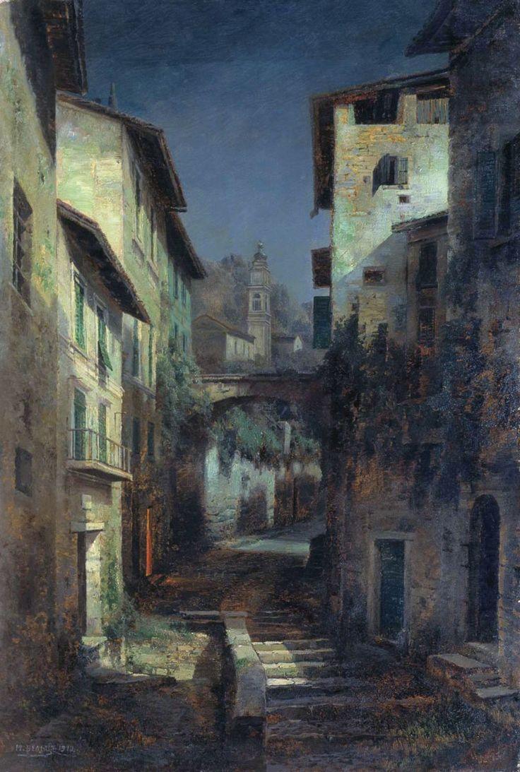 Иван Августович Вельц (1866 – 1926). Лунный свет.