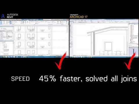 Revit vs. ArchiCAD - YouTube