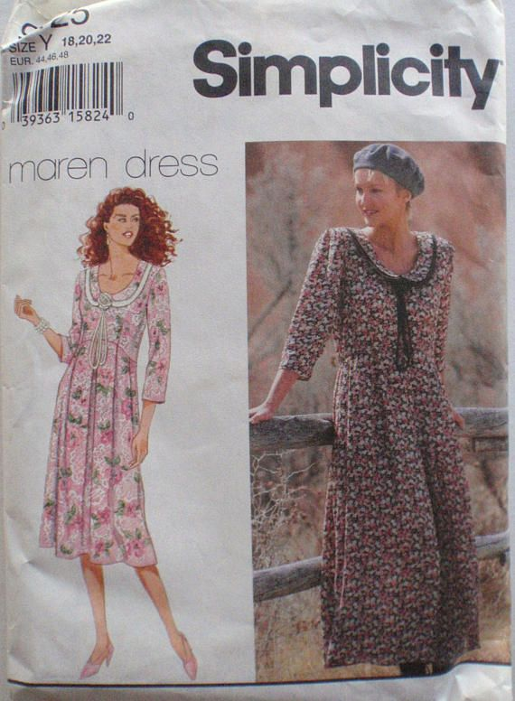 Simplicity 9125 Sewing Pattern  Misses/Misses Petite Dress by