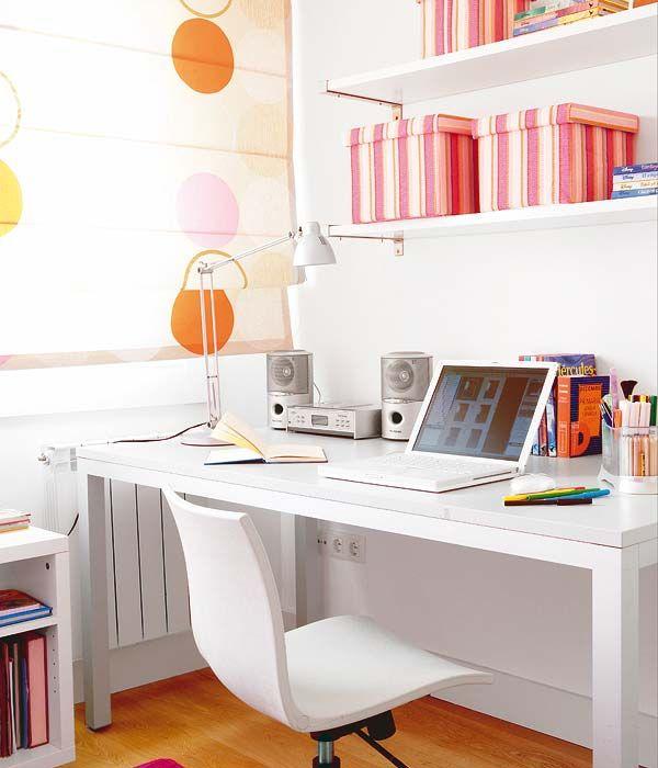 Ideas y soluciones: decorar área de estudio en casa | Ideas para decorar, diseñar y mejorar tu casa.
