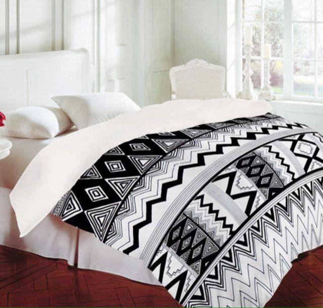 Bedding aztec the hunt pinterest for Aztec bedroom ideas