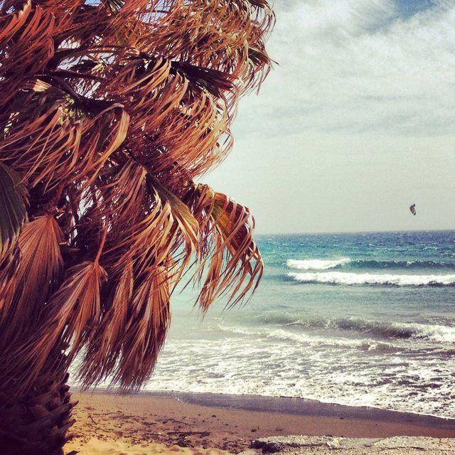 Golden beach, Paros