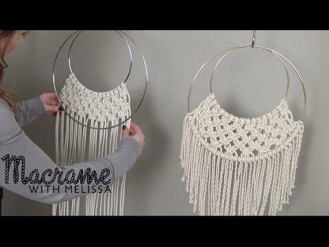 DIY Beginner Macrame Wall Hanging Project with Crafty Ginger. Link download: http://www.getlinkyoutube.com/watch?v=r2GbD4yG7bI