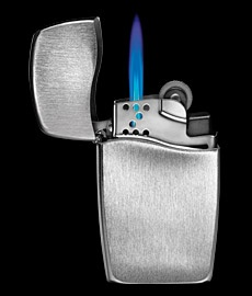 You can NEVER go wrong with a ZIPPO.