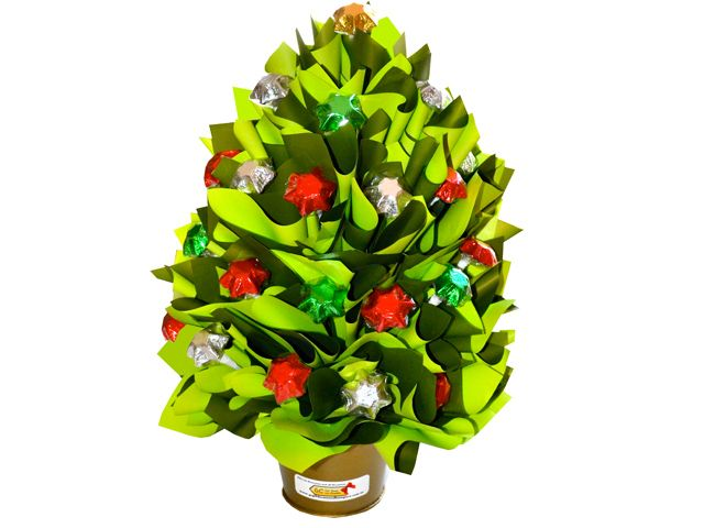 Chocolate Christmas Tree, Medium