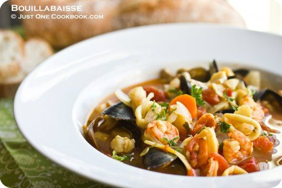 Bouillabaisse (French Seafood Stew) | Easy Japanese Recipes at JustOneCookbook.com