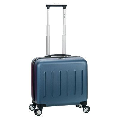 Rockland BF30 Pelican Hill Rolling Laptop Case Blue - BF30-BLUE