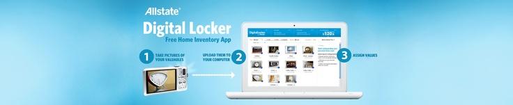 digital locker for home inventory