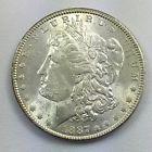 1887 P Morgan Silver Dollar Uncirculated UNC Nice Coin #10,258