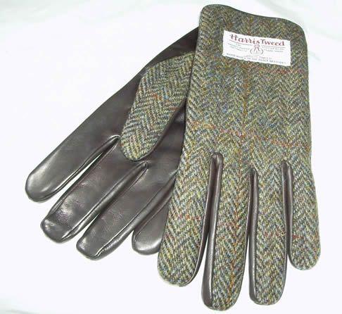 mens cloves   Harris Tweed Ladies and men's Gloves