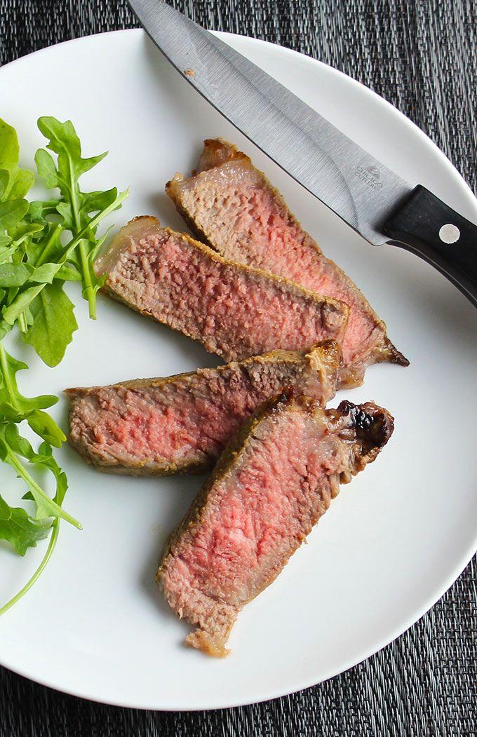 NY Strip Steak with Dad's Favorite Spice Rub
