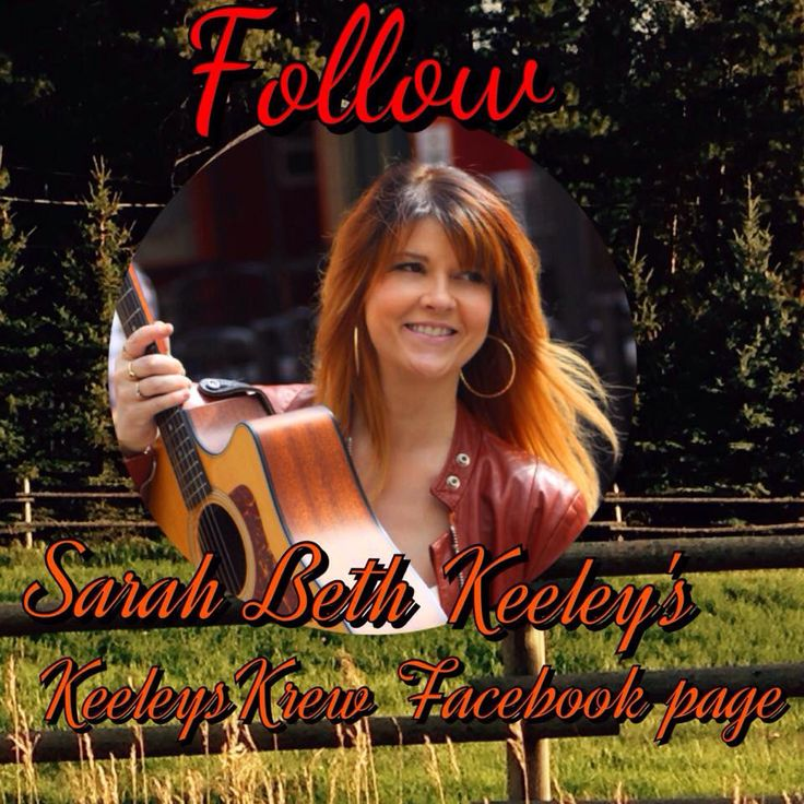 Become a member of @sarahbethkeeley #KeeleysKrew like the page and follow all directions to #win a #SBK #prize pack! #countrymusic #countryrock #WomenOfCountry #Time #facebook
