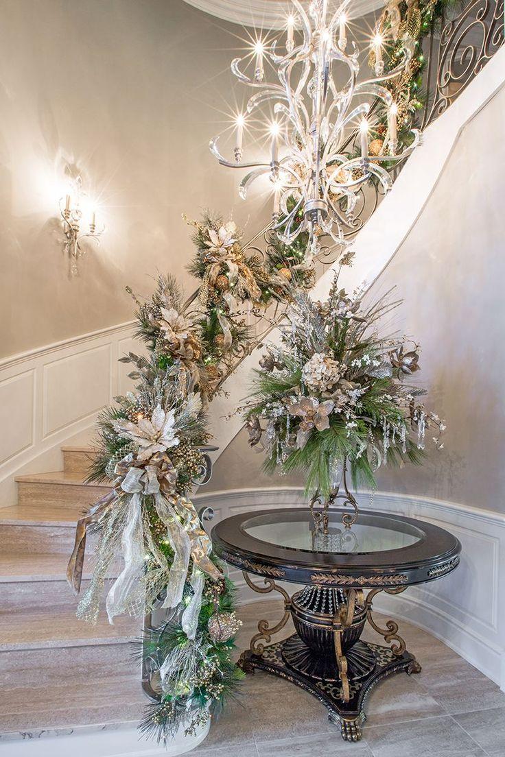 Christmas foyer - entry way