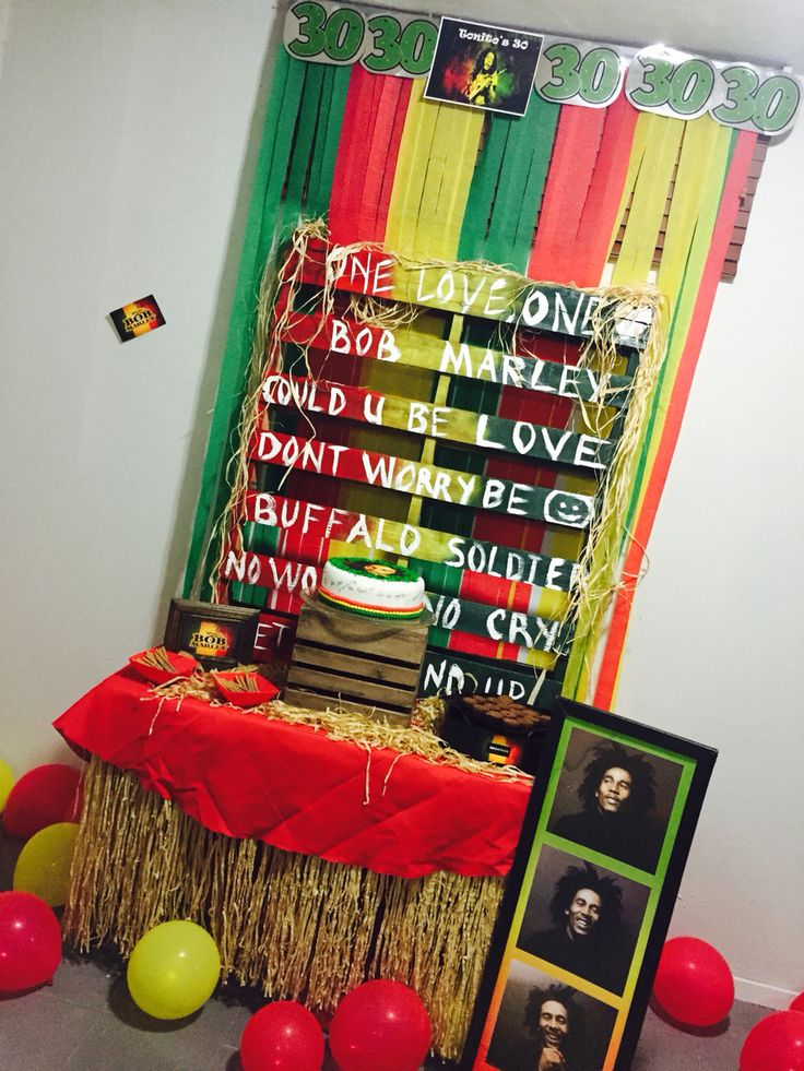 Bob Marley Party Servicio de catering en PR 787-299-1380