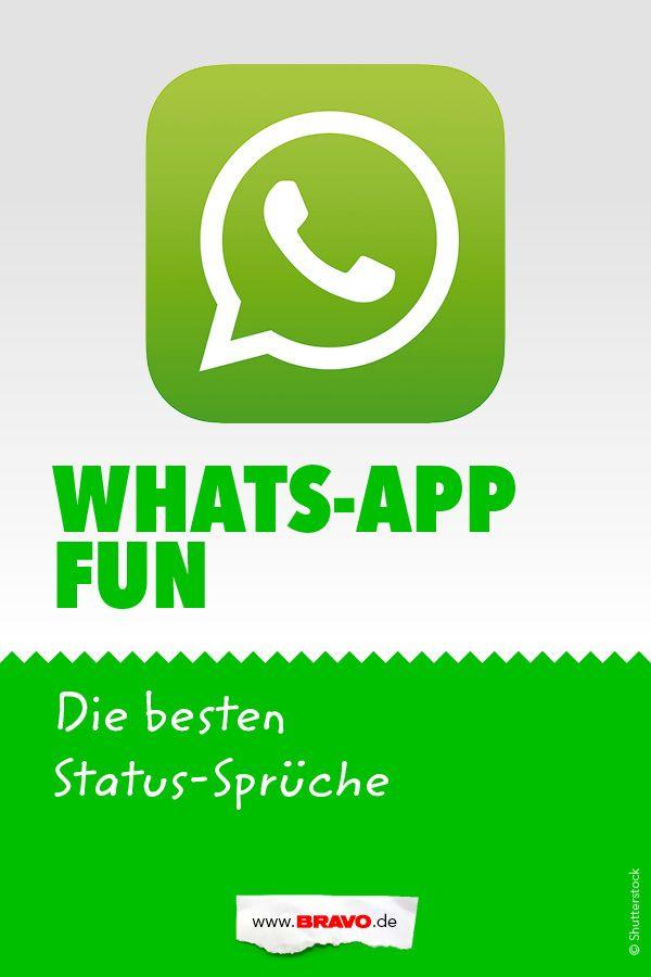 Die Lustigsten Whatsapp Status Sprüche Coole Sprüche Whatsapp