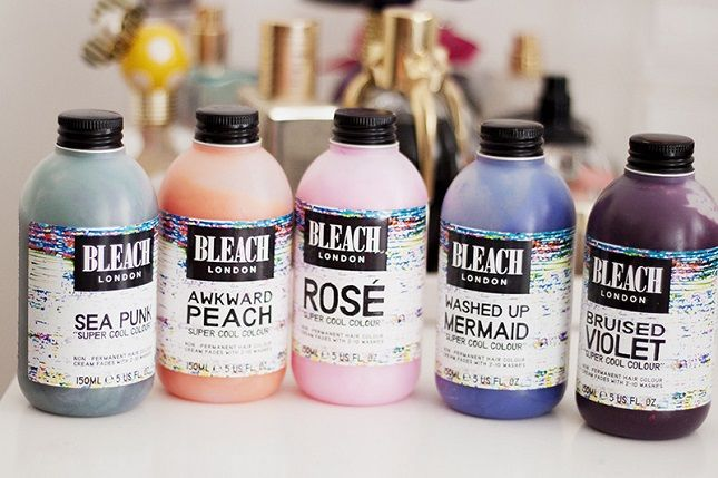 12 Temporary Pastel Hair Colors to Dye For via Brit + Co.