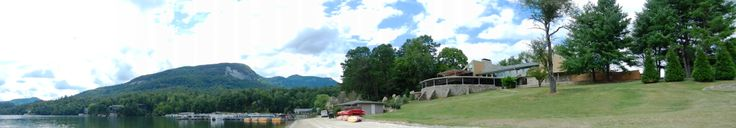 Rumbling Bald Resort on the North Shore of Lake Lure in North Carolina