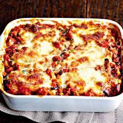 Aubergine Ovenschotel Met Parmezaanse Kaas En Mozarella recept