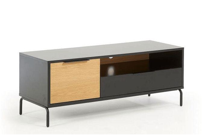 11 Agreable Meuble Tv Noir Mat Image Kave Home Decor Home