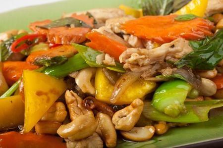 Pollo in salsa di soia e zenzero