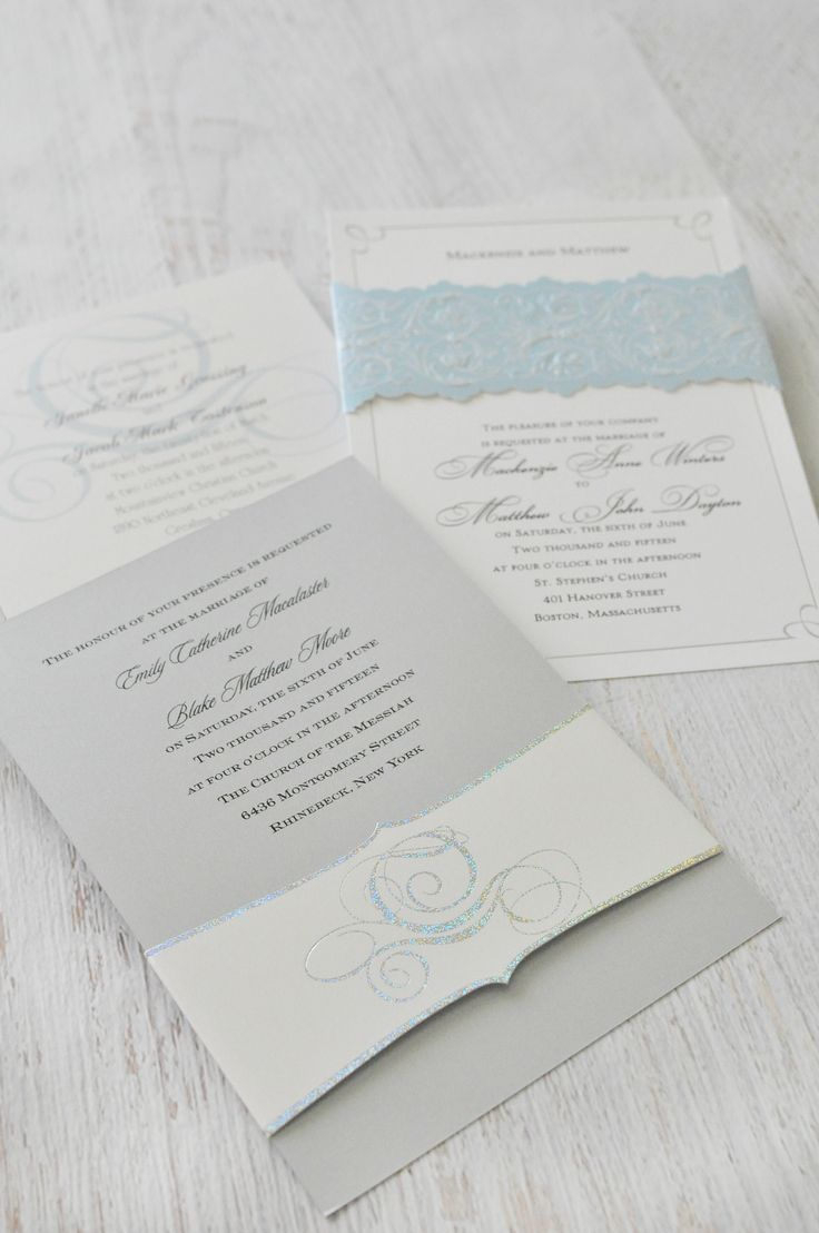 Cinderella themed wedding invitations From the Disney