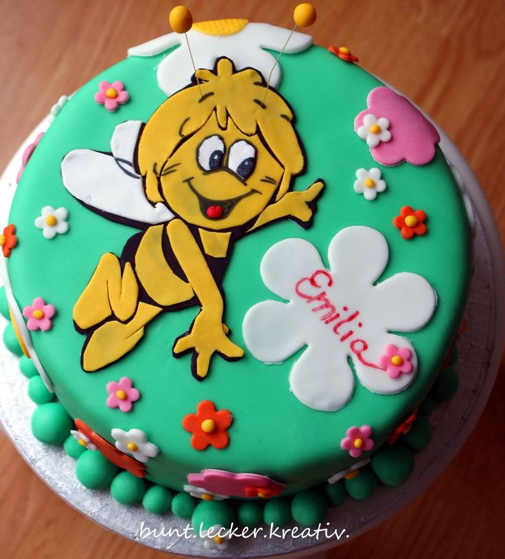 "Biene Maja Torte ...""Maja the bee"" cake"
