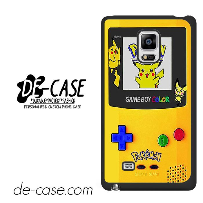 Gameboy Color Pokemon Edition DEAL-4596 Samsung Phonecase Cover For Samsung Galaxy Note Edge
