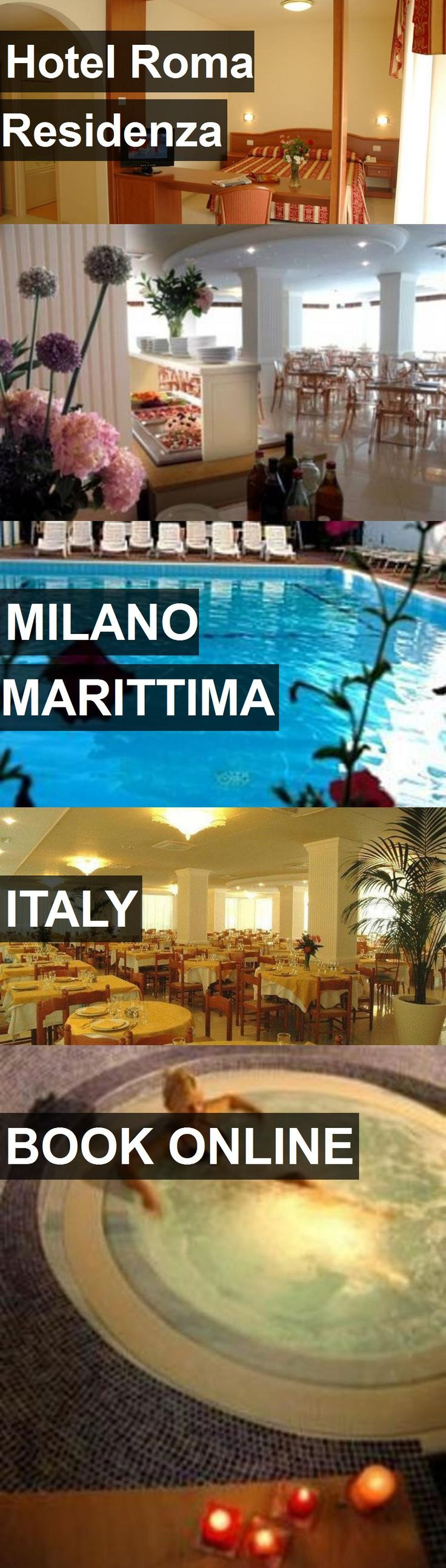 Hotel Roma Residenza in Milano Marittima, Italy. For more information, photos, reviews and best prices please follow the link. #Italy #MilanoMarittima #travel #vacation #hotel