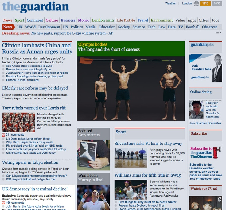 Our clients Democratic Audit are on the front page of the Guardian this morning    http://www.guardian.co.uk/uk/2012/jul/06/british-democracy-decline-report
