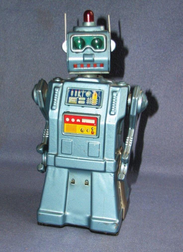 Robot directionnel vintage yonezawa