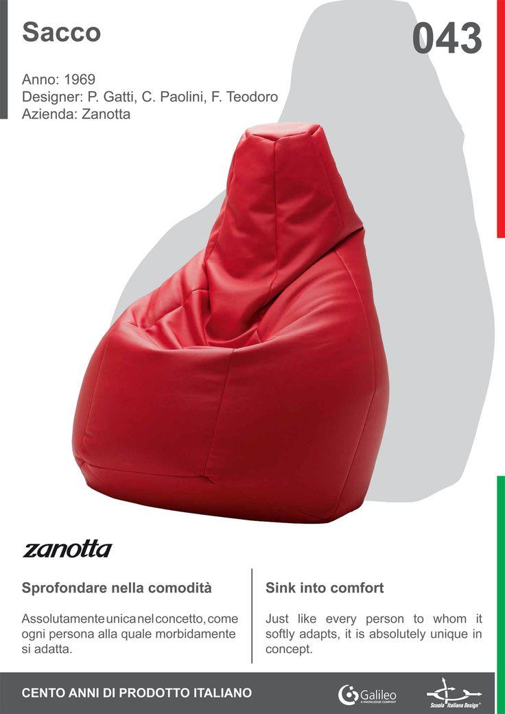 Sacco by Gatti, Paolini & Teodoro for Zanotta (1969)