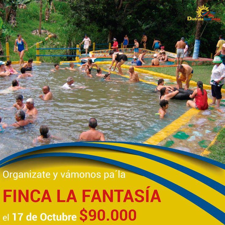 Aputare pues que nos vamos de finca Vamos con la familia a pasar #elmejorfinde con #disfrutacolombia #reservaya