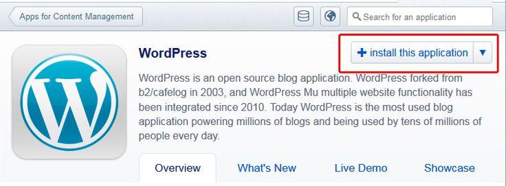 WordPress -julkaisujärjestelmän asennus webhotelliin
