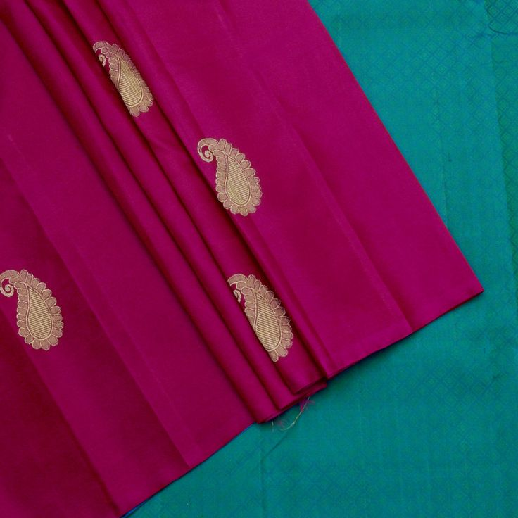 Sarangi Handwoven Kanjivaram Silk Sari - 350127910 from Sarangi * Feel Beautiful