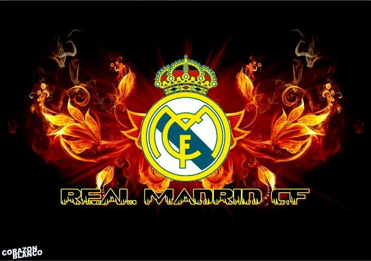 Real Madrid Logo Football Wallpaper