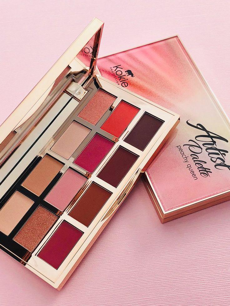 Kokie Peachy Queen Palette Makeup, Eyeshadow, Palette