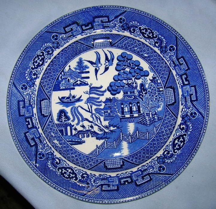 27 best Blue Willow images on Pinterest | Willow pattern ...