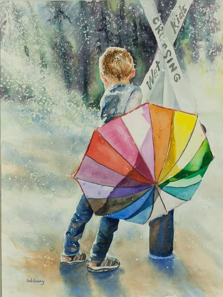 Umbrella by Caitlyn Antaloczy