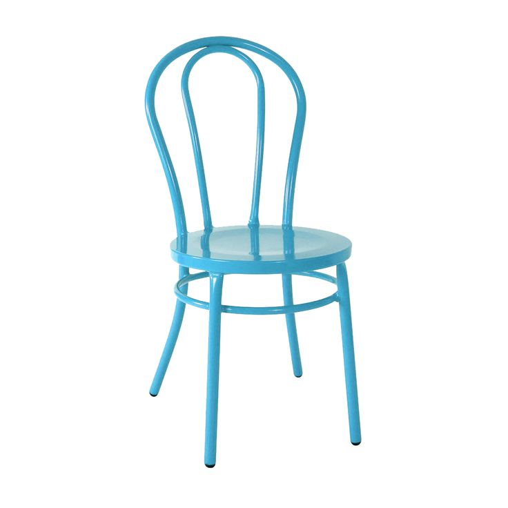 Cabaret Chair in Gloss Sky Blue