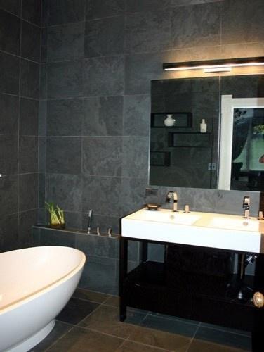 Black Honed Slate. Dark BathroomsBathroom BlackSlate Tile BathroomsModern  BathroomsGrey ... Part 95