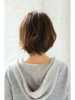 ジョエミバイアンアミ(joemi by Un ami)【joemi】くせ毛風クラシカル無造作ウェーブ×ミルクティカラー